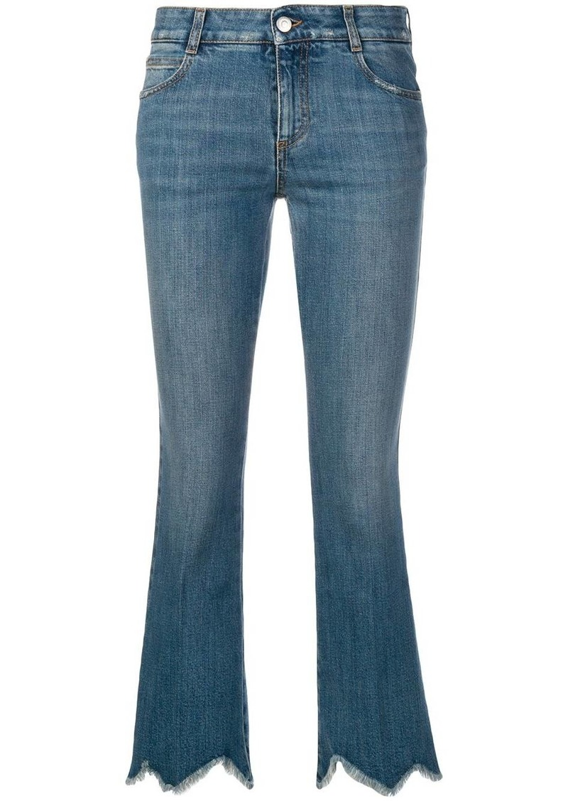 Stella McCartney cropped flare jeans