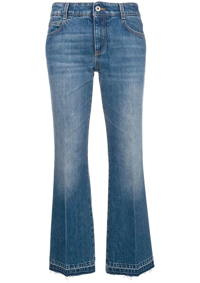 Stella McCartney cropped flared jeans