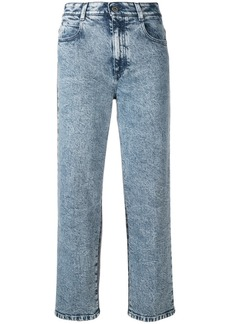 Stella McCartney cropped high-rise jeans