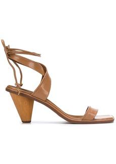 Stella McCartney Rhea crossover strap sandals
