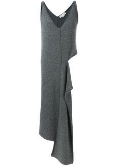 Stella McCartney cut-out long asymmetric jumper