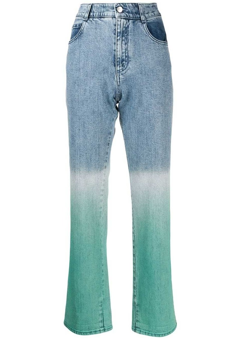 Stella McCartney dip-dye jeans