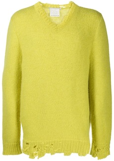 Stella McCartney distressed detail sweater