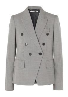 Stella McCartney Double-breasted Wool-tweed Blazer