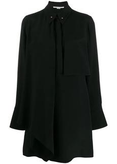 Stella McCartney draped panel shirt dress