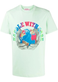 Stella McCartney earth print T-shirt