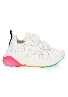 Stella McCartney Eclypse Chunky Grip-Tape Monogram Sneakers