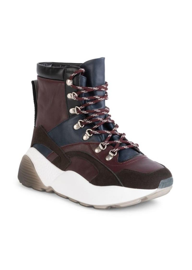 Stella McCartney Eclypse Chunky Lace-Up Hiking Boots