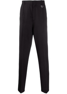 Stella McCartney elasticated waistband straight-leg trousers