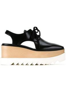 Stella McCartney Elyse cut-out platform shoes