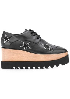 Stella McCartney Elyse star motif platform brogue