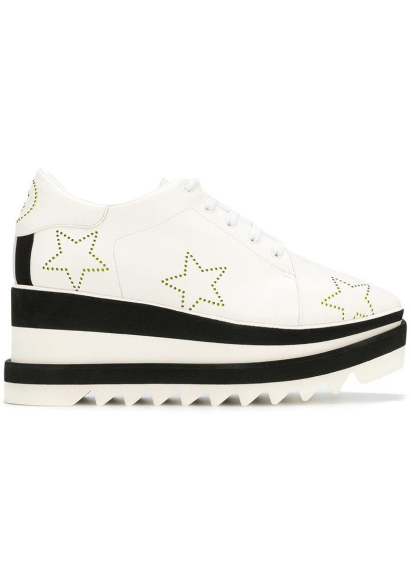 Stella McCartney Elyse star platform sneakers