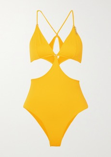 Stella McCartney Embellished Cutout Swimsuit