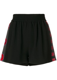 Stella McCartney embroidered cady shorts