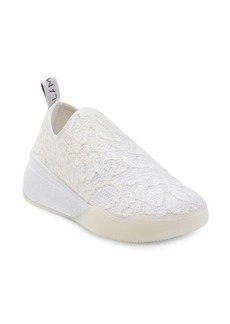 Stella McCartney Embroidered Lace Sock Sneakers