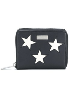 Stella McCartney embroidered star zip around wallet