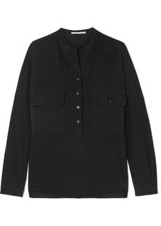 Stella McCartney Estelle Silk Crepe De Chine Shirt