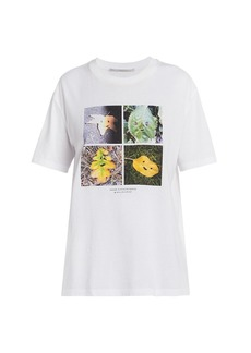 Stella McCartney Faces In Places Grid T-Shirt