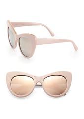 Stella McCartney Falabella Chain 53MM Oversized Cat Eye Sunglasses