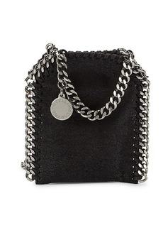 Stella McCartney Falabella Faux-Leather Wallet-On-Chain