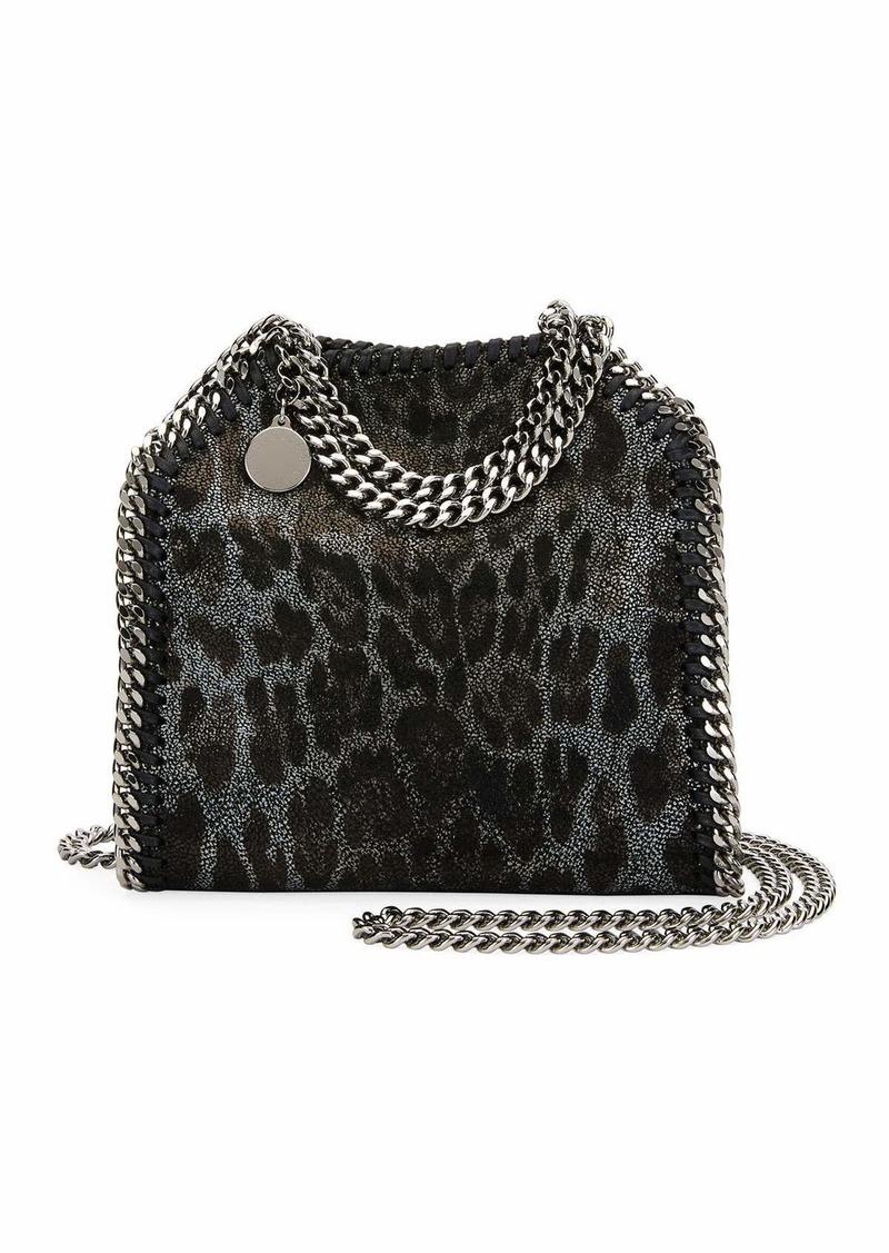 d28269eb6cc2 Stella McCartney Falabella Tiny Leopard Tote Bag