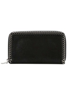 Stella McCartney 'Falabella' top zip wallet