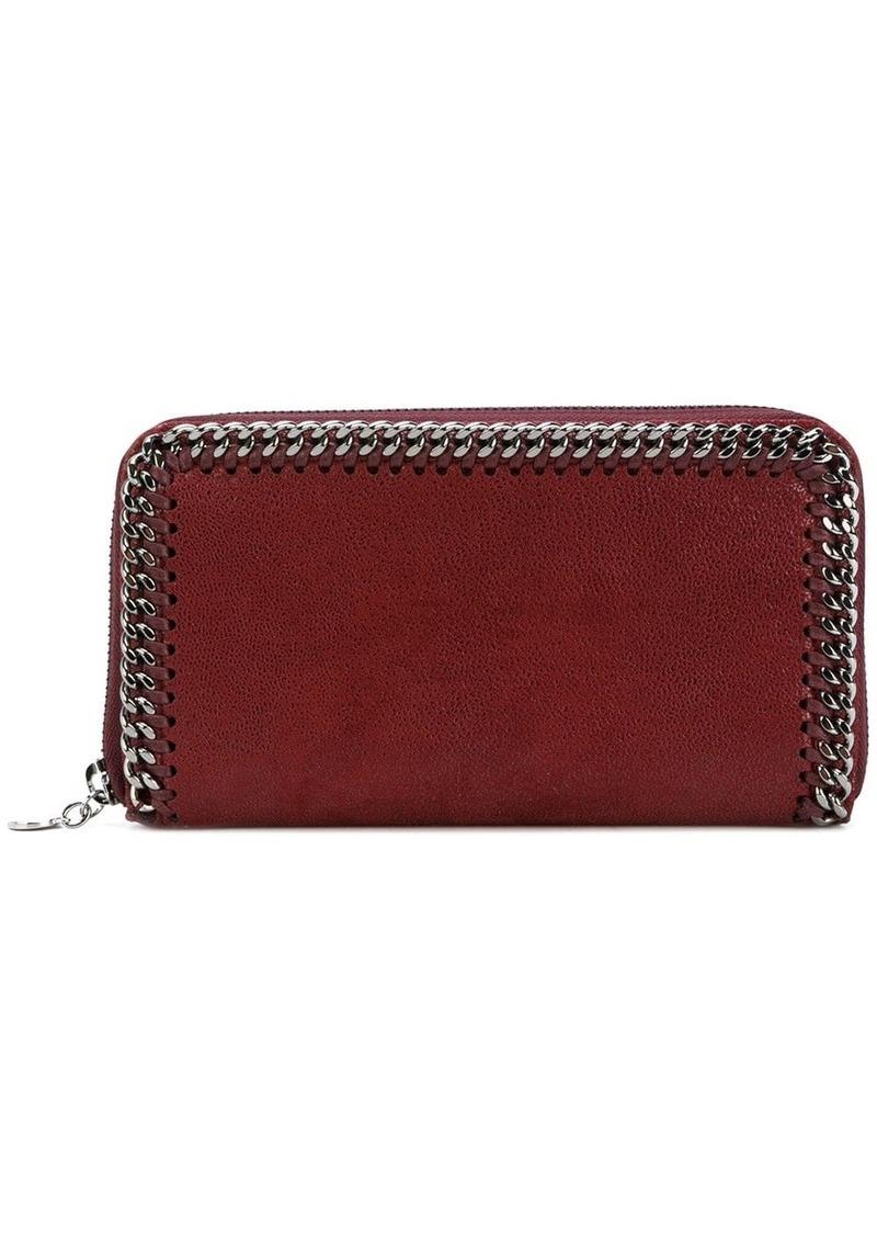 Stella McCartney Falabella zip around continental wallet