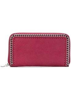 Stella McCartney Falabella zip-around wallet