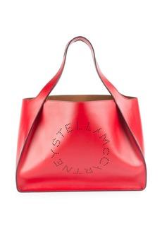 Stella McCartney Faux Leather Boxy Tote Bag