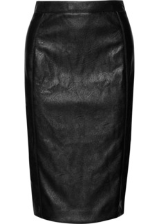 Stella McCartney Faux Leather Pencil Skirt