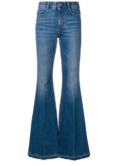 Stella McCartney flared high-waisted jeans