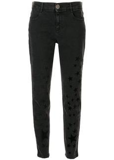 Stella McCartney flock-star skinny jeans