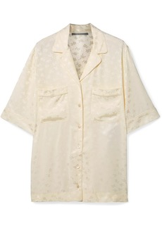 Stella McCartney Floral-jacquard Shirt