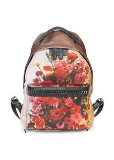 Stella McCartney Floral Print Backpack
