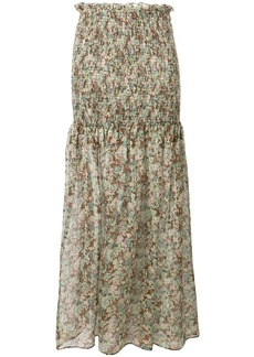 Stella McCartney floral print skirt
