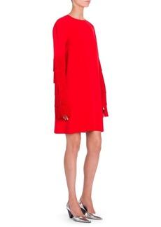 Stella McCartney Fringe-Arm Shift Dress