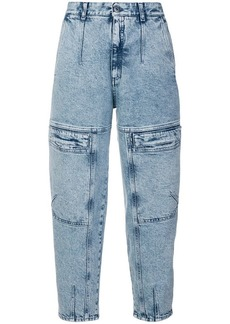 Stella McCartney front zipped jeans
