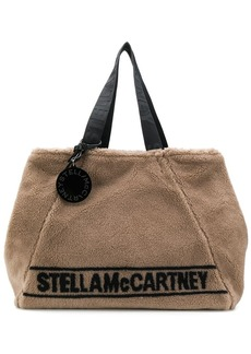 Stella McCartney Fur Free Fur logo tote