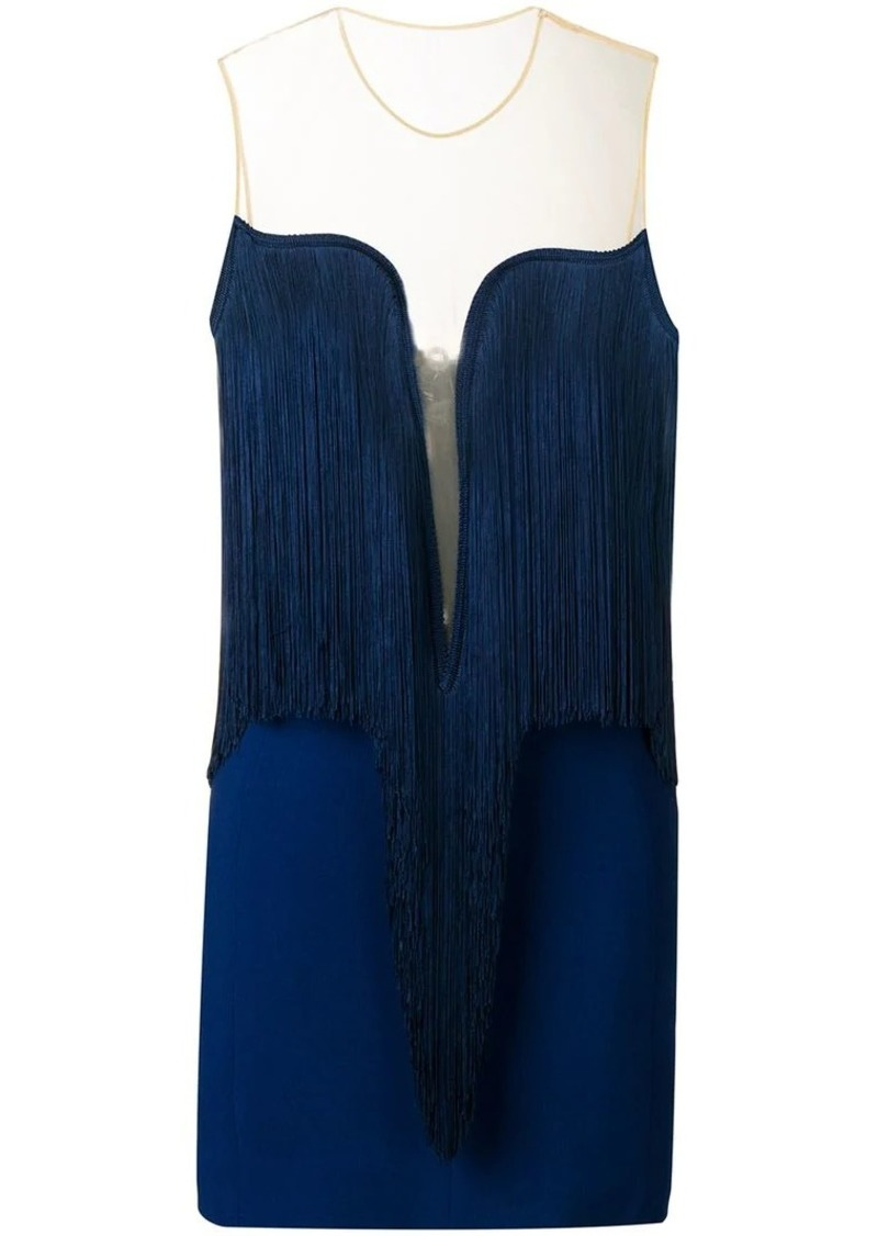 78cf3a45ee9f Stella McCartney Giselle fringed dress