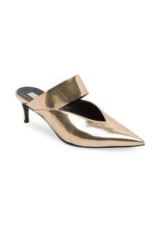 Stella McCartney Glossy Kitten Heel Mules