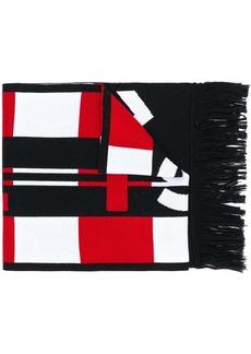 Stella McCartney graphic-print scarf