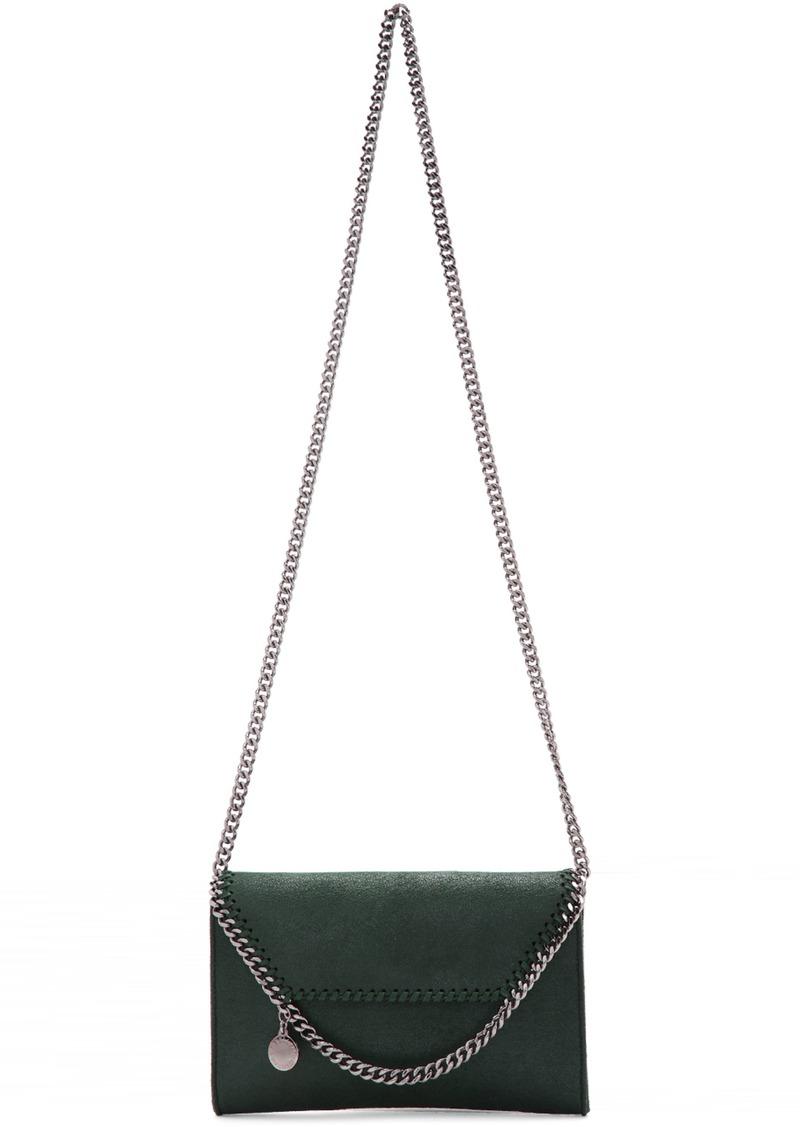 Green Mini Falabella Shoulder Bag