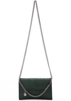 Stella McCartney Green Mini Falabella Shoulder Bag