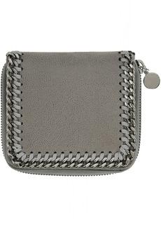Stella McCartney Grey Small Zip Falabella Wallet