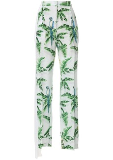 Stella McCartney Halle Paradise print trousers