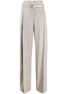 Stella McCartney Harley pleated paperbag trousers