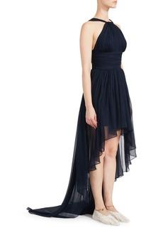 Stella McCartney High-Low Silk Dress