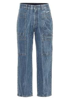 Stella McCartney High-rise carrot leg jeans