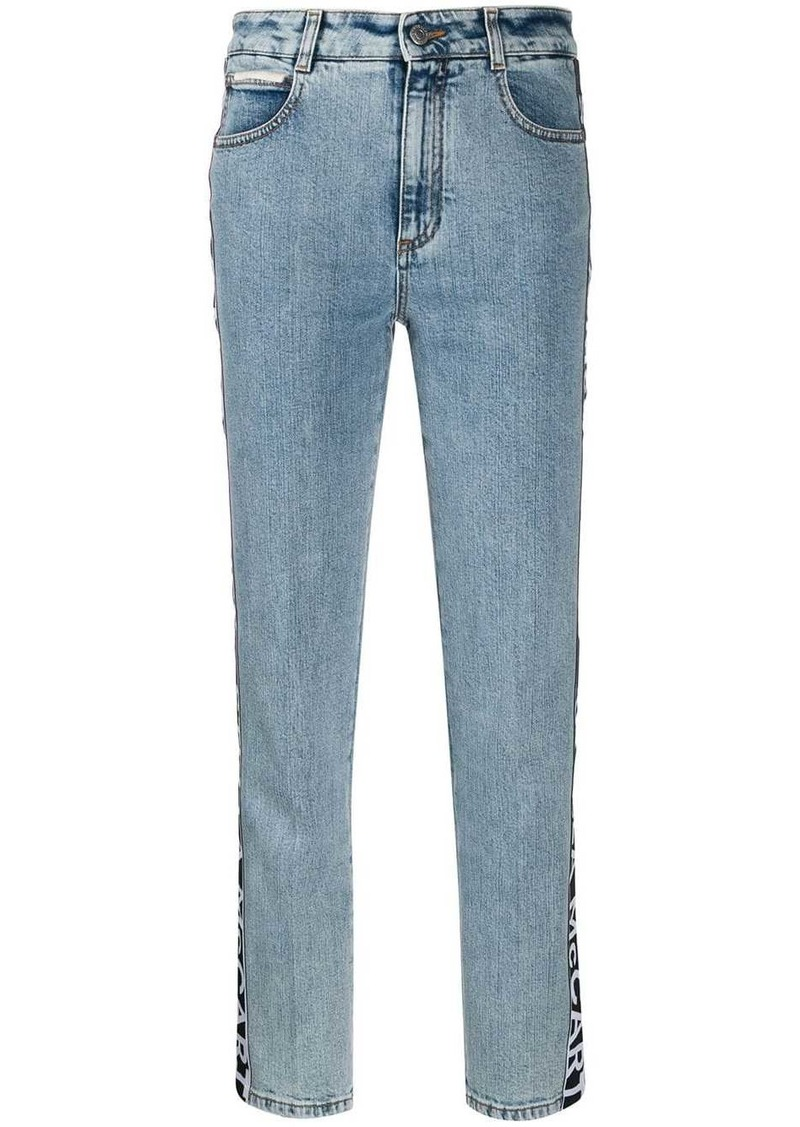 Stella McCartney high waist logo jeans