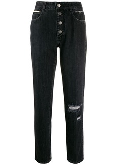 Stella McCartney high waist straight jeans